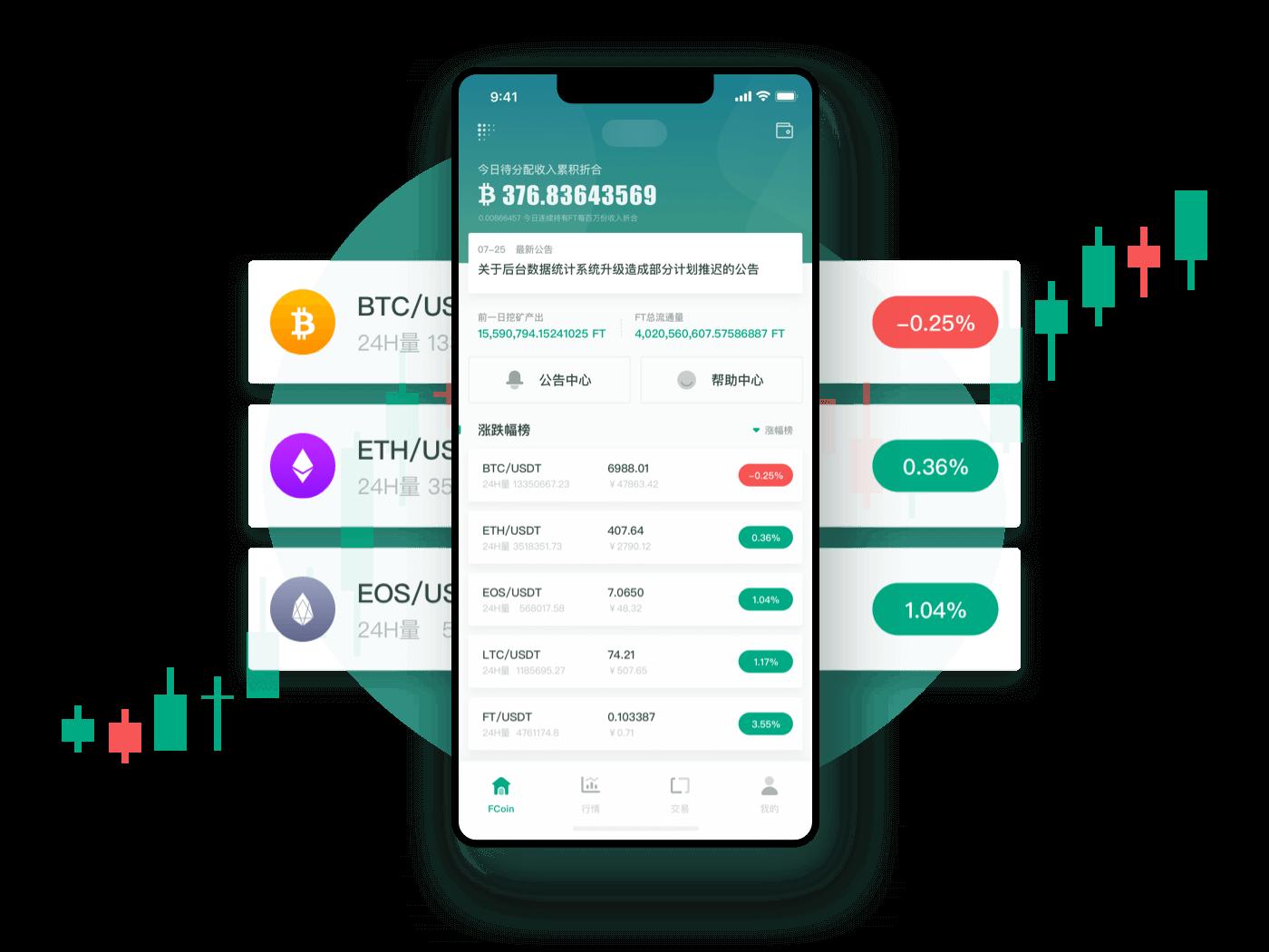 BTC Exchange App