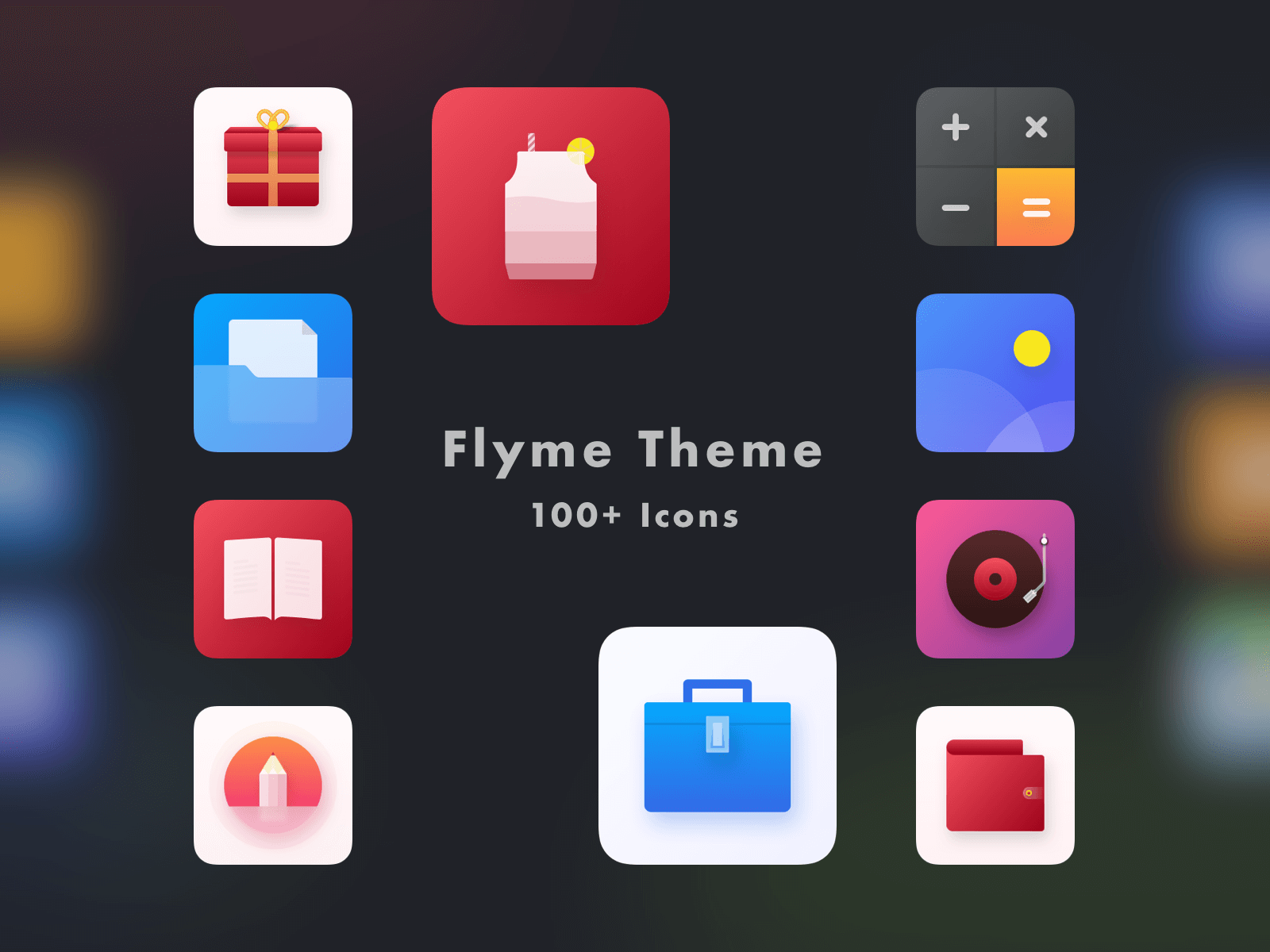 Flyme Theme Icons